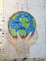 全球暖化塗鴉